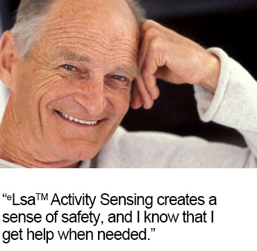 benefits with activity sensing in carehomes